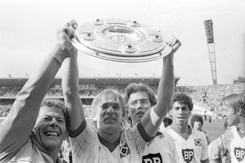 HSV Bundesliga Historie 1981 - 1982
