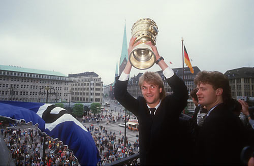 HSV Bundesliga Historie 1986 - 1987