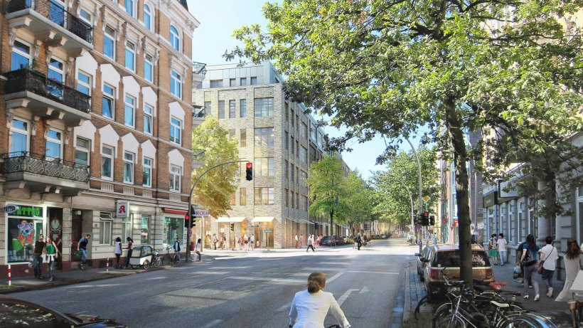zeise parkplatz baugenehmigung l st neuen rger aus. Black Bedroom Furniture Sets. Home Design Ideas