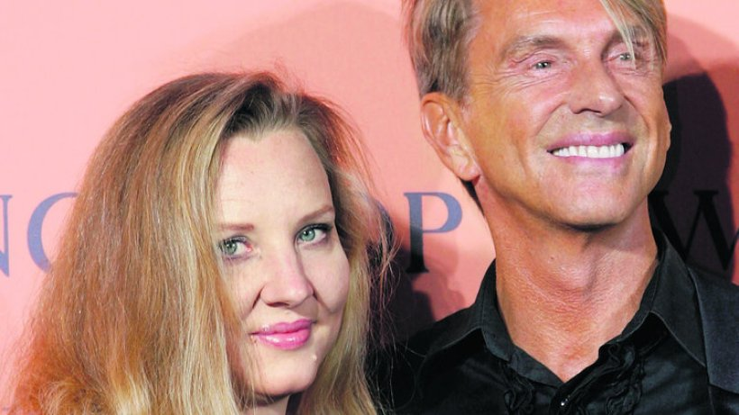 Photo of Wolfgang Joop & his  Daughter  Florentine Joop